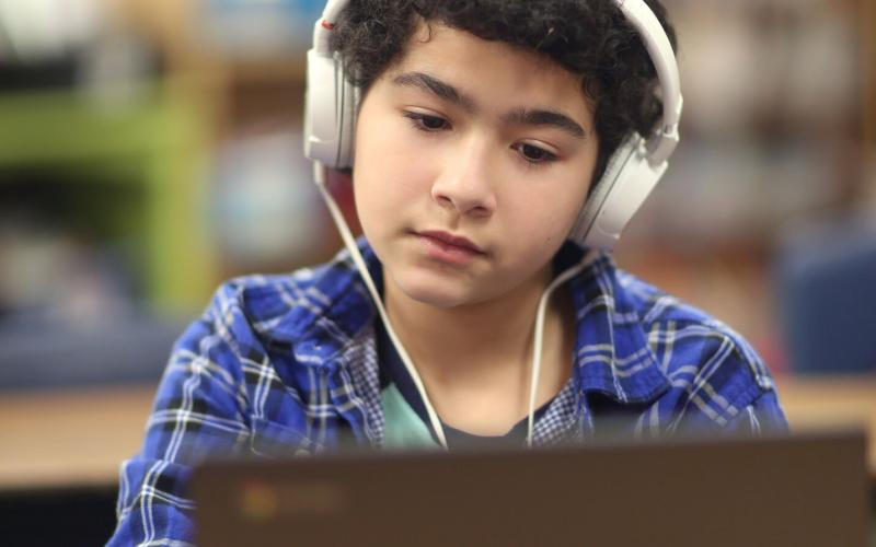 Helping students with access and support in the new world of online learning.